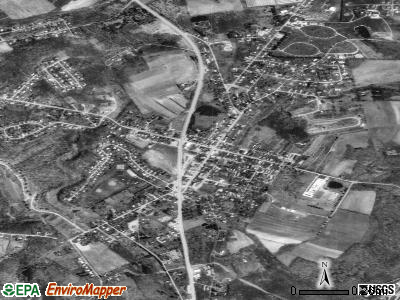 Delmont satellite photo by USGS