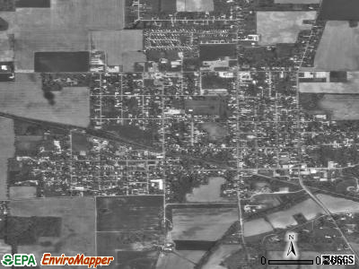 Middletown satellite photo by USGS