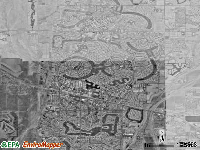 Sun City satellite photo by USGS