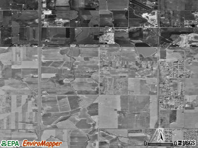 Frederick satellite photo by USGS