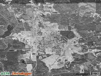 Quitman satellite photo by USGS