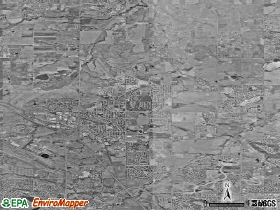 Broomfield satellite photo by USGS