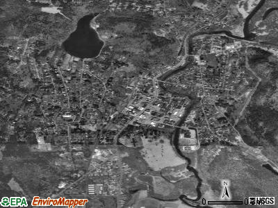 Great Barrington satellite photo by USGS