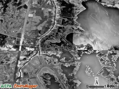 Dulac satellite photo by USGS