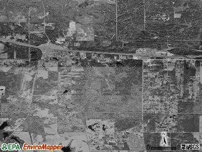 Greenwood satellite photo by USGS