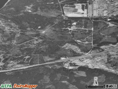DuPont satellite photo by USGS