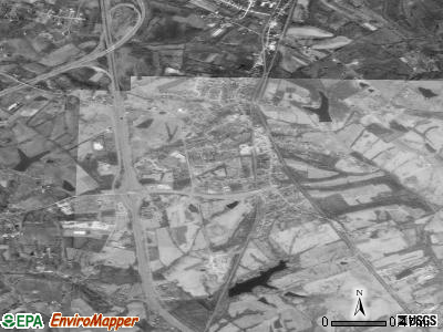 Walton satellite photo by USGS