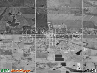Lamoni satellite photo by USGS