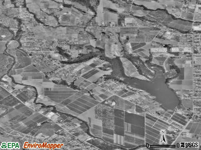 Amesti satellite photo by USGS