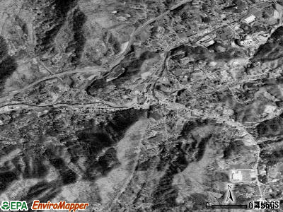 Sylva satellite photo by USGS