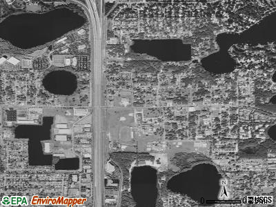 Eatonville satellite photo by USGS