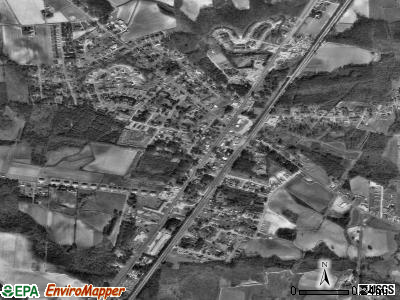 Sharpsburg satellite photo by USGS