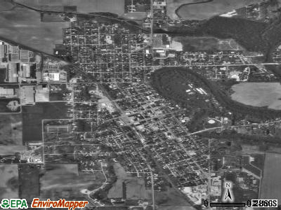 Winamac satellite photo by USGS
