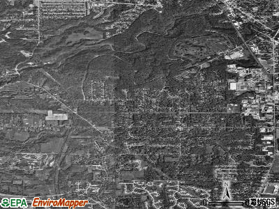 Walton Hills satellite photo by USGS