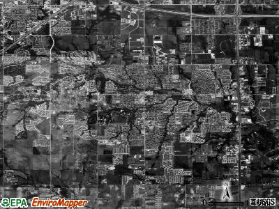 DeSoto satellite photo by USGS