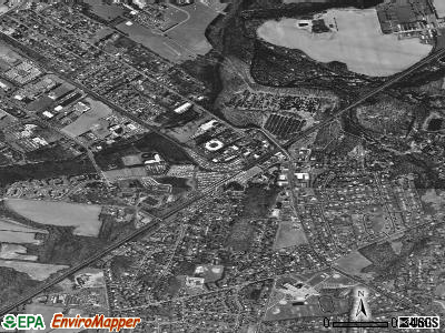 Princeton Junction satellite photo by USGS
