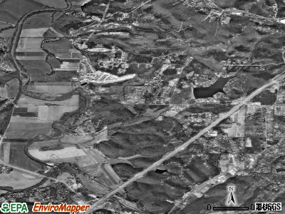 Byrnes Mill satellite photo by USGS
