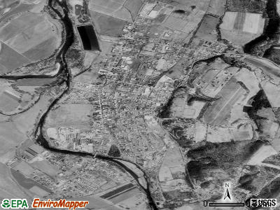 Moorefield satellite photo by USGS