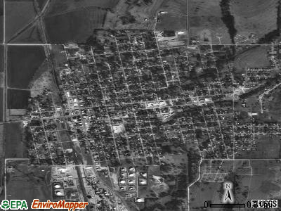 Wynnewood satellite photo by USGS