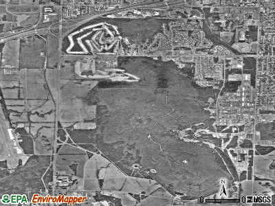 Redstone Arsenal satellite photo by USGS
