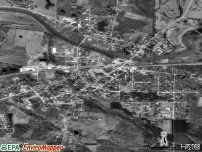 Cambridge Springs satellite photo by USGS