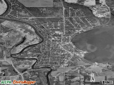 Polk City satellite photo by USGS