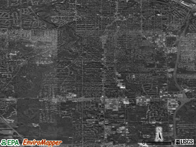 Boardman satellite photo by USGS