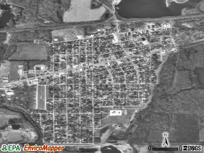West Terre Haute satellite photo by USGS