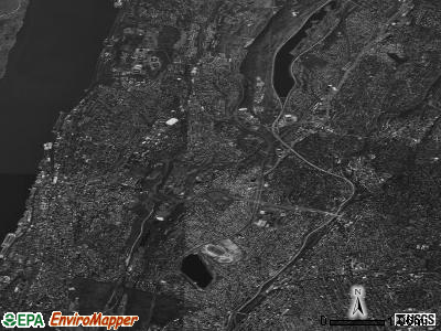Yonkers satellite photo by USGS