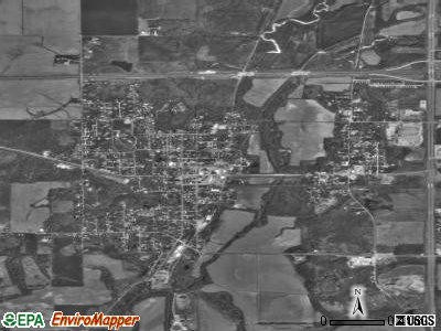 Veedersburg satellite photo by USGS