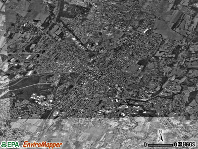 Hagerstown satellite photo by USGS