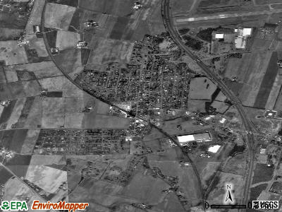 Maugansville satellite photo by USGS