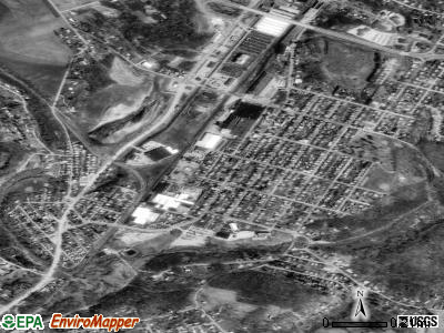 South Greensburg satellite photo by USGS