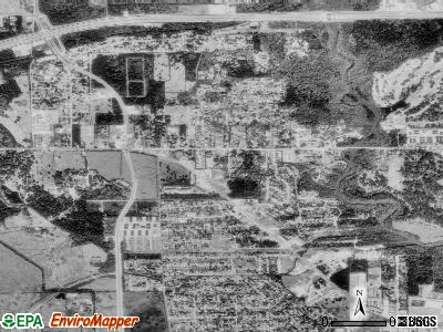 Pinehurst satellite photo by USGS