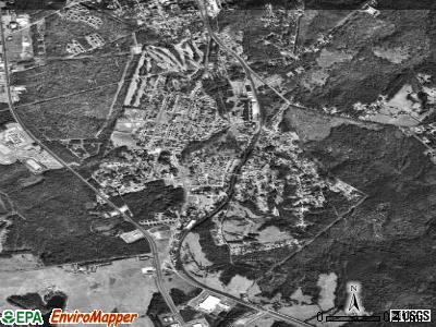 Winnsboro Mills satellite photo by USGS