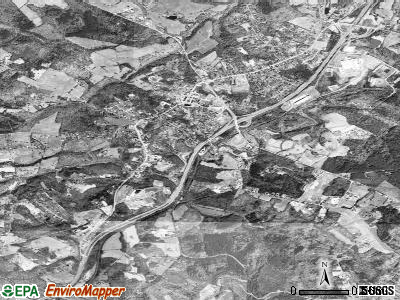Amherst satellite photo by USGS