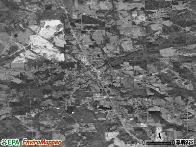 Chickamauga satellite photo by USGS