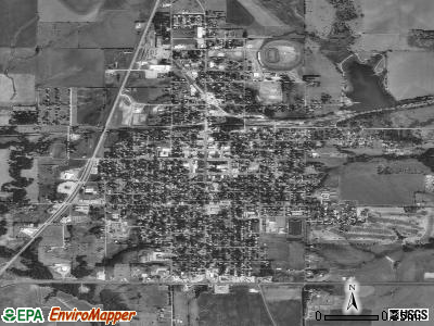 Belleville satellite photo by USGS