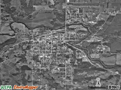 Pawnee satellite photo by USGS