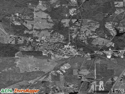 Lumberton satellite photo by USGS