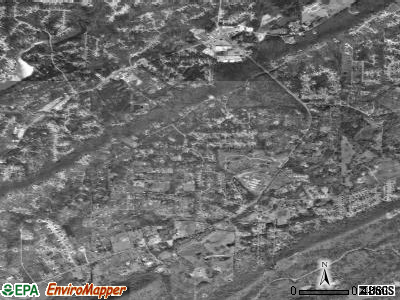 Indian Springs Village satellite photo by USGS