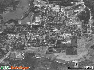 Charleston satellite photo by USGS