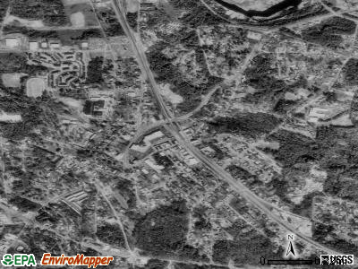 Lithonia satellite photo by USGS