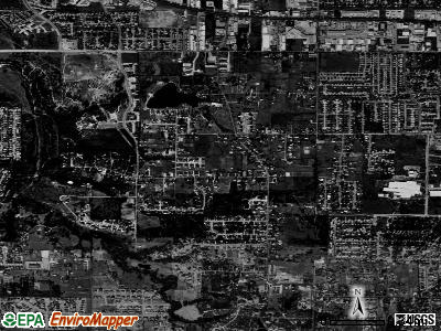 Dalworthington Gardens satellite photo by USGS