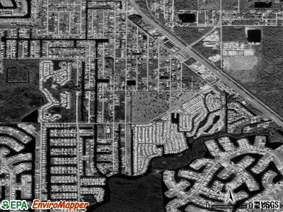 Charlotte Park satellite photo by USGS