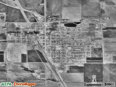 Barnesville satellite photo by USGS