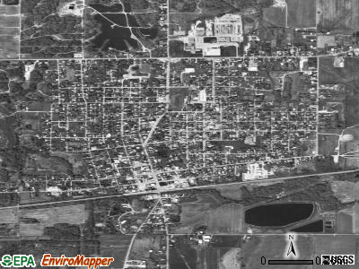 Bridgeport satellite photo by USGS