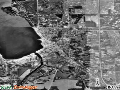 Ortonville satellite photo by USGS