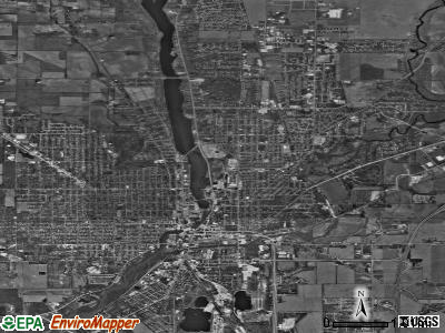 Beloit satellite photo by USGS