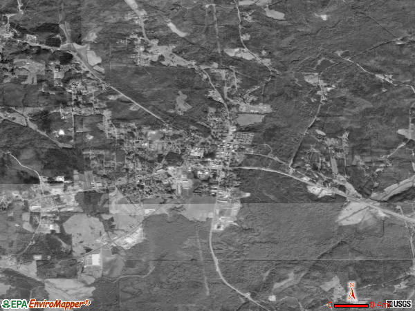 Vernon satellite photo by USGS